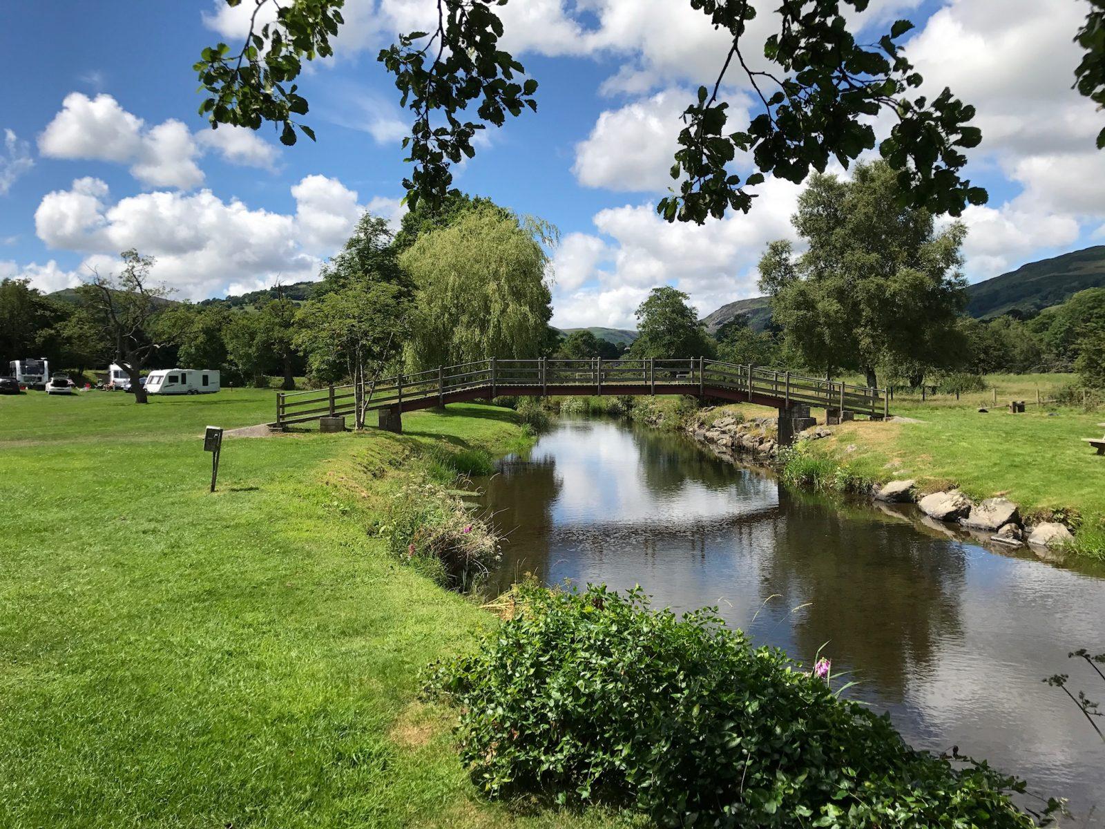 Parc Farm Caravan Park bridge