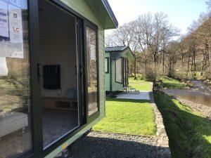 Willerby Impression 2018 sliding doors