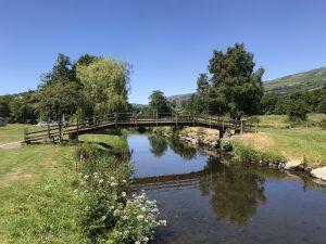 The bridge at Parc Farm